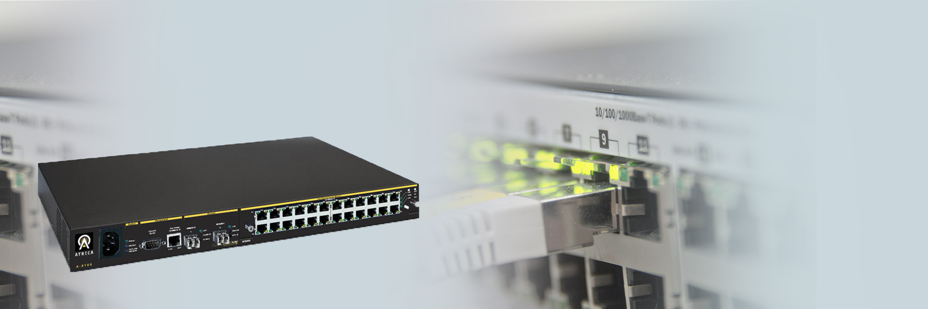 Optical Ethernet Switch by Atrica