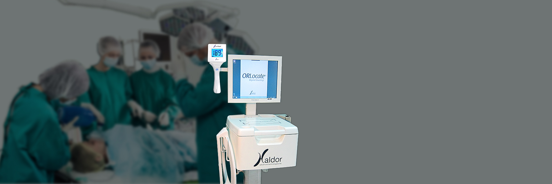 tracking instruments and sponges throughout the surgery by haldor